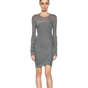 Isabel Marant Etoile Easton Striped Mini Dress